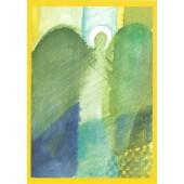 Liturgische Karte zum Sterbesegen  -Vorderseite-