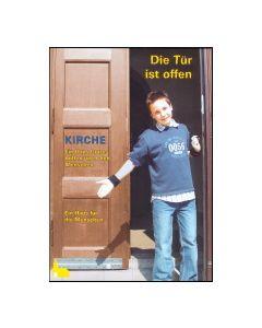 Die Tür ist offen / Satz mit 50 Flyern