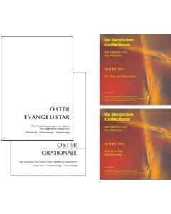 Die liturgischen Kantillationen des Diakons und des Priesters  / OSTERN-GESAMTEDITION