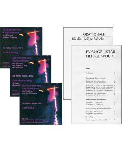 Die liturgischen Kantillationen des Diakons und des Priesters / Heilige Woche - GESAMTEDITION